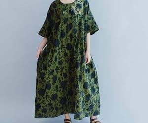 etsy, fashion dress, and cotton dress image