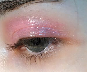 pink, makeup, and aesthetic image