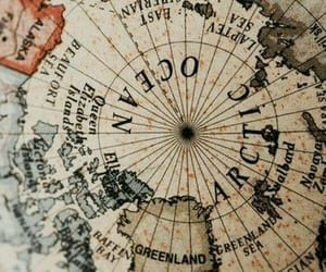 map, aesthetic, and globe image