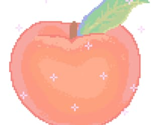 fruit, gif, and peach image