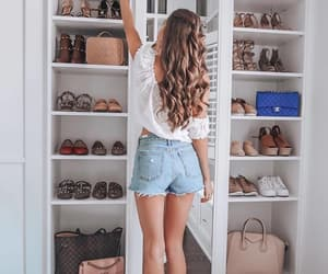 bags, closet, and fashion image