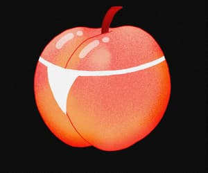 cool, gif, and peach image