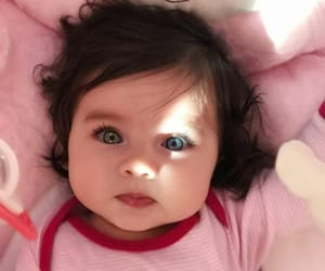 baby, blue, and cute image