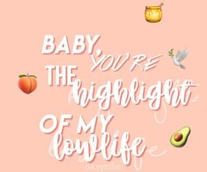 highlight, peach, and peachy image