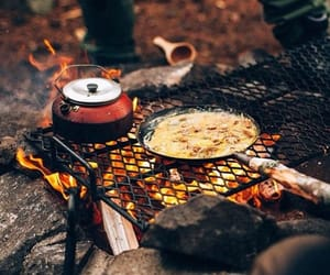 camping, nature, and travel image