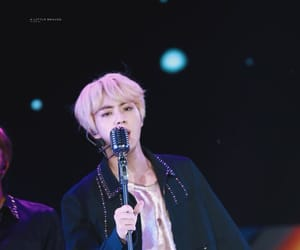 blonde, jin, and kpop image