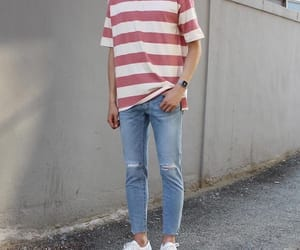 casual, fashion, and men image