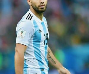 argentina, sergio aguero, and futbol image