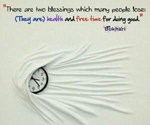 free time, health, and hadith image