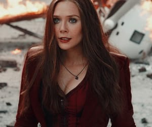 icon, Marvel, and scarlet witch image