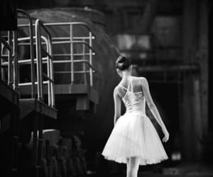 ballerina and black wite ballet image
