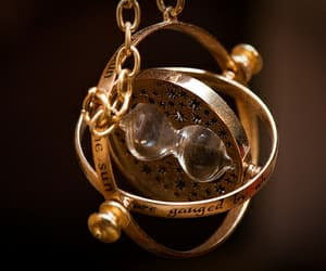 harry potter, time turner, and hermione granger image