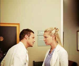izzie stevens, alex karev, and grey's anatomy image