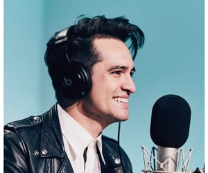 brendon urie, panic! at the disco, and music image