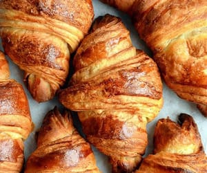 croissant, food, and delicious image