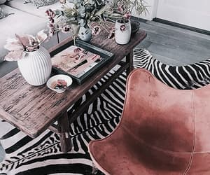 interior, chic, and decor image