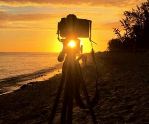 photo, sunset, and sleepingbeauty image