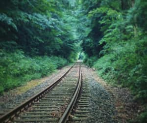 disappear, get lost, and railway image