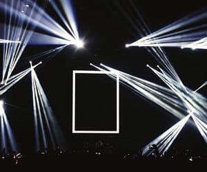 dark, blue, and concert image