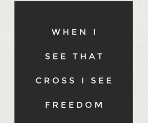 cross, faith, and freedom image