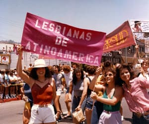 lesbian, pink, and retro image