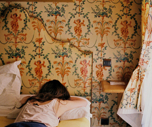 girl, vintage, and room image