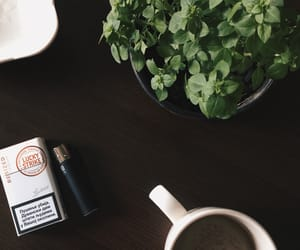cigarettes, cup, and hb2 image