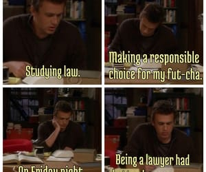 college, funny, and how i met your mother image