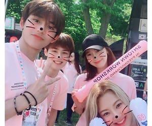 lucas, hyoyeon, and yoona image