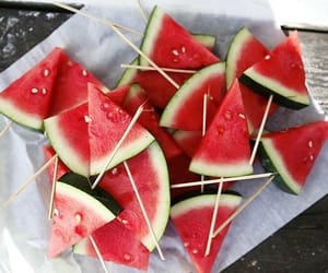 fruit, watermelon, and food image
