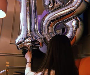 balloons, birthday, and celebration image