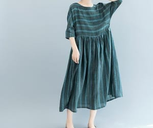 etsy, long dress, and loose dress image