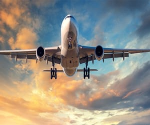 airlines, los angeles, and tourism image