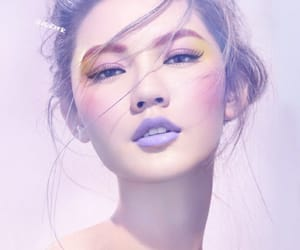 makeup, beautiful, and pastel image