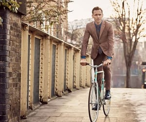 bicycle and tom hiddleston image