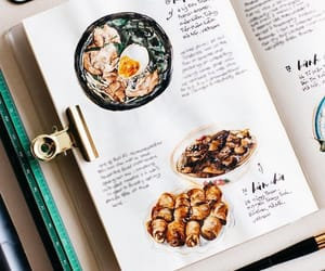 food, recipe, and bujo image