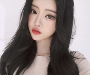 aesthetic, asian girl, and eyes image