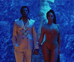 gif, jay-z, and beyonce and jay-z image