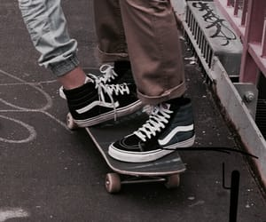 vans, couple, and grunge image