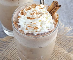 drink, food, and frappucino image