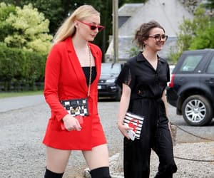 wedding, sophie turner, and maisie williams image