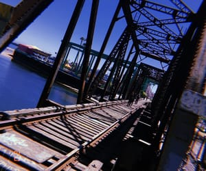 bridge, ocean, and Santa Cruz image