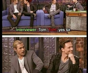 tom hiddleston, loki, and thor image
