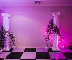 aesthetic, pink, and vaporwave image