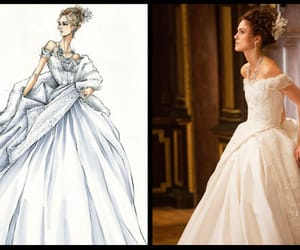 anna karenina, dress, and keira knightley image