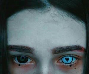 eye blue white girl image