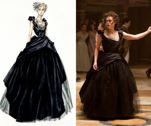fashion, anna karenina, and dress image