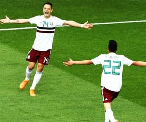 mexico, world cup, and chicharito image