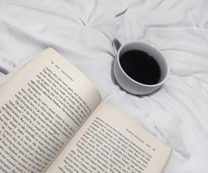 bed, black, and book image