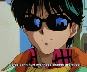 animation, gucci, and shades image